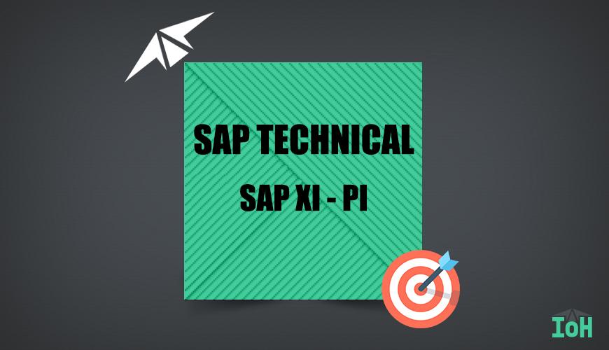SAP XI PI