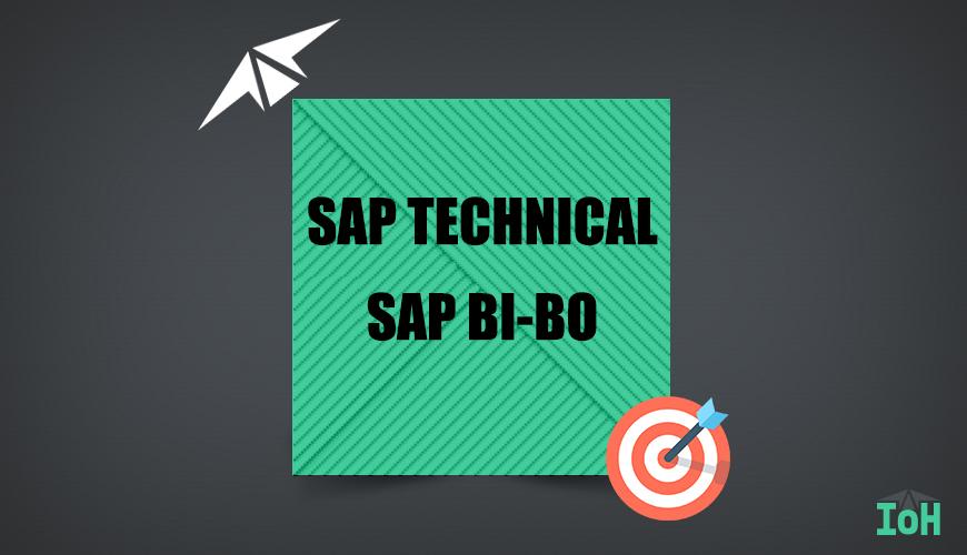 SAP BI/BO