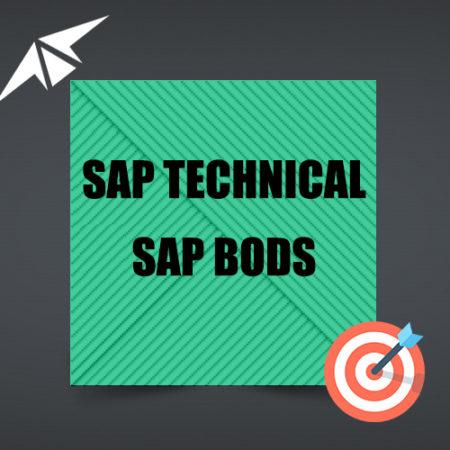 SAP BODS