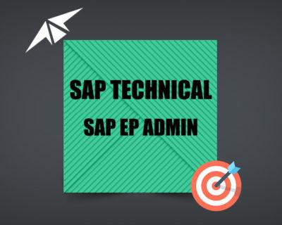 SAP EP-ADMIN