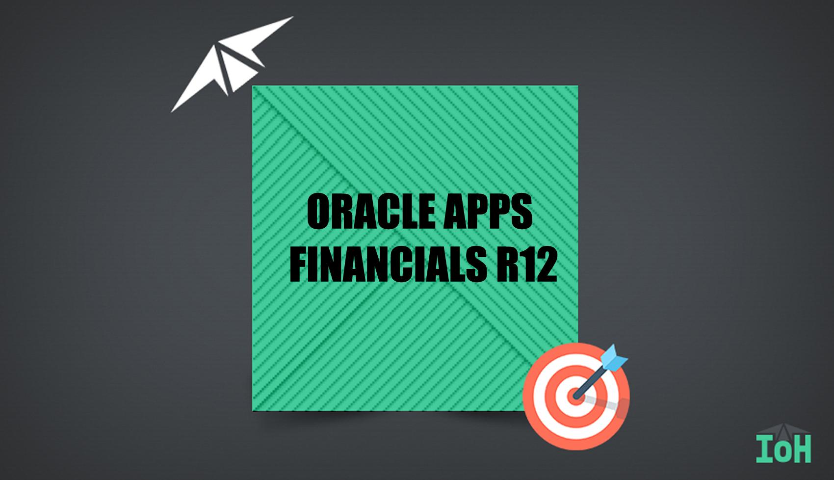 ORACLE FINANACIALS-R12