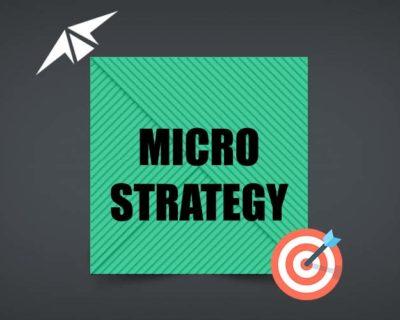 MICRO STRATEGY