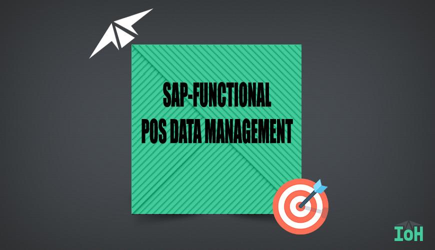 SAP POS DATA MANAGEMENT
