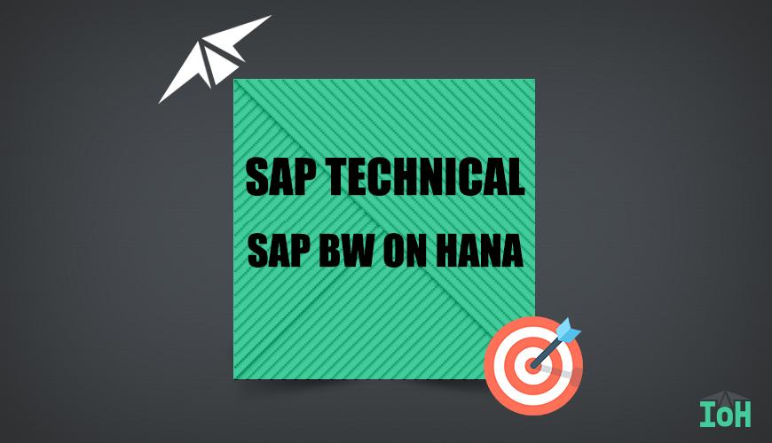 SAP BW ON HANA