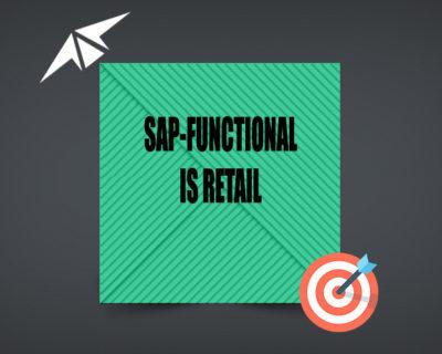 SAP IS RETAIL