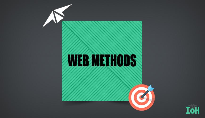 WEB METHODS